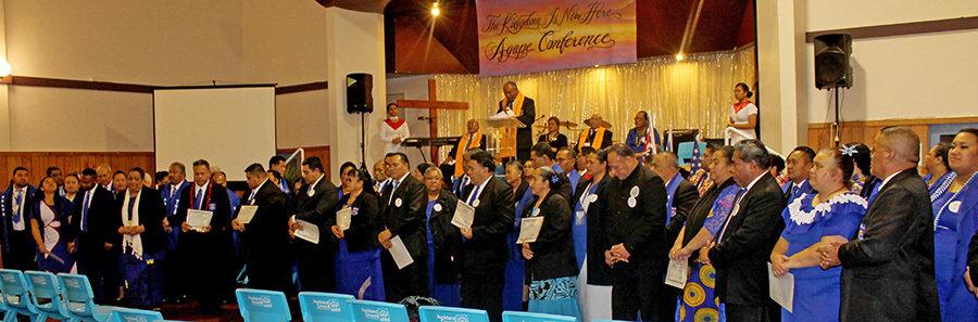 Uluai Koneferenisi Agape International Ministries i le Lalolagi
