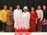 Usugafono, Misa, Ta'uo, Uanita, Rev Dr. Vili Iosua, Folose, Maima, Tumua, Makerita, Misa