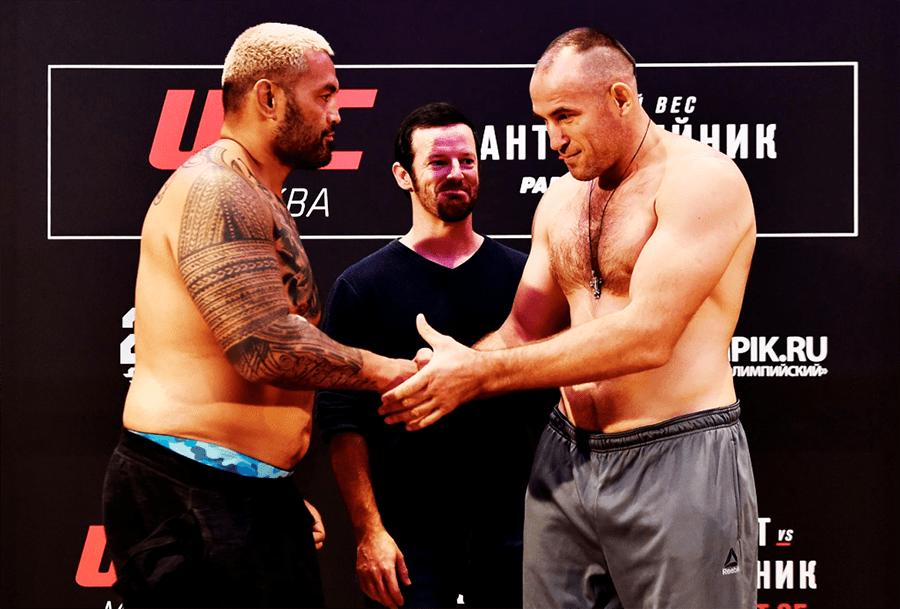 Faiaina le Super Samoan i le UFC136
