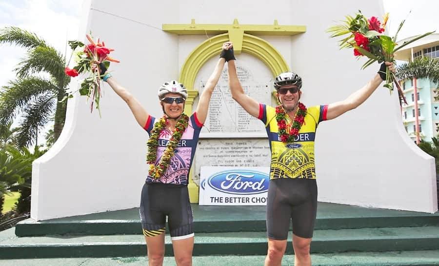 Mua Madden-Smith ma Nicki Sutherland i le Tour of Samoa