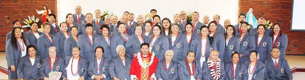 Ekalesia Katoliko Samoa Holy Cross Papatoetoe i le taimi o le latou sulufaga