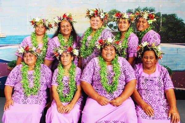 Mafutaga a tina Matatufu na malaga mai Samoa