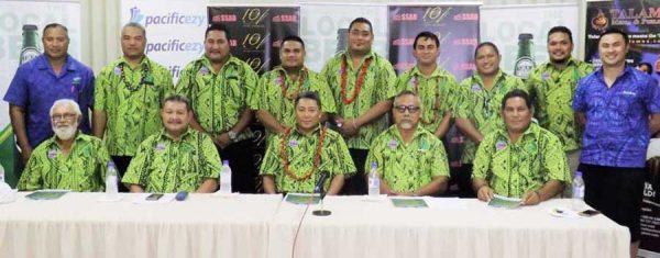 O le Pelesetene ma sui o le komiti a le Malisi o loo feagai ma polokalame o le faamanatuina o le 130 tausaga talu ona taunuu i Samoa aoaoga a le Malisi