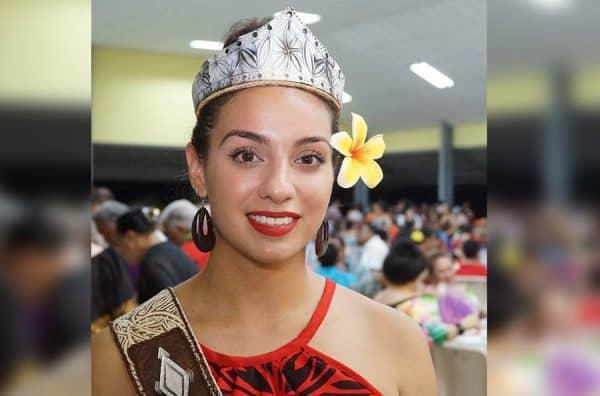 Sonia Piva - Miss Samoa 2018 - 2019