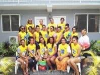 Auvoli Faafafine Auckland Diamonds Team 2 siamupini i le Teuila ma le Sisigafu'a 2018