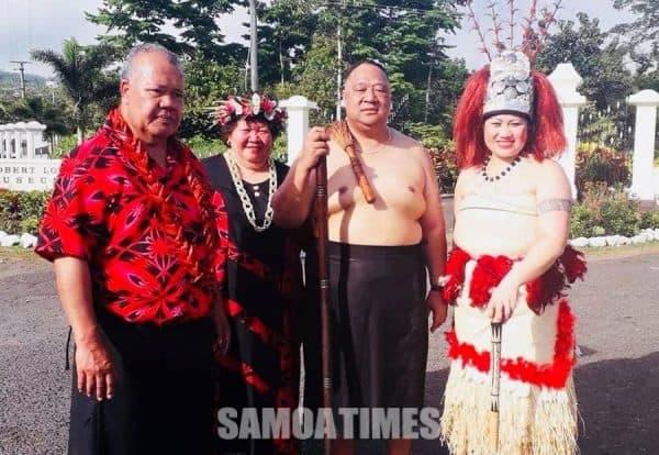 Nisi o sui o le mafutaga a Vailima i Aukilani na auai atu i Samoa i le umusaina o le maota o le faafeagaiga