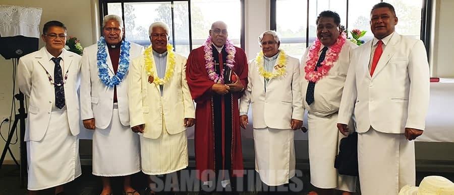 Faatuina le uluai Ekalesia Metotisi Fou a le Atua  i Ipswich Kuniniselani