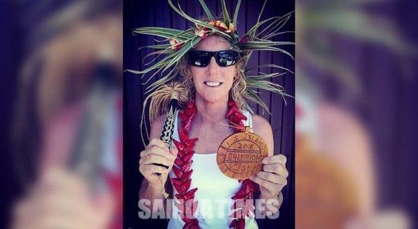 Christina Harris, ua manumalo atoatoa i le 5 Islands - Photo: Samoa Events / Afoa