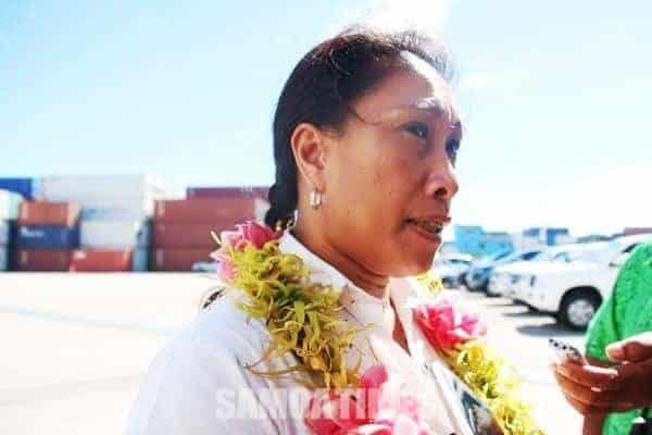 Sa'u Justina Sa'u: Photo - Samoa Observer