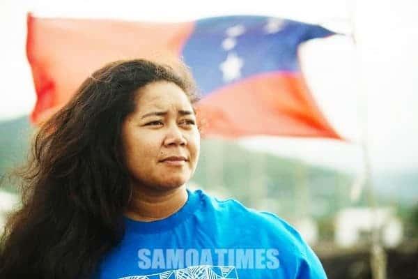 Filifilia Fealofani Bruun o Samoa i le  100 tamaitai iloga o le lalolagi