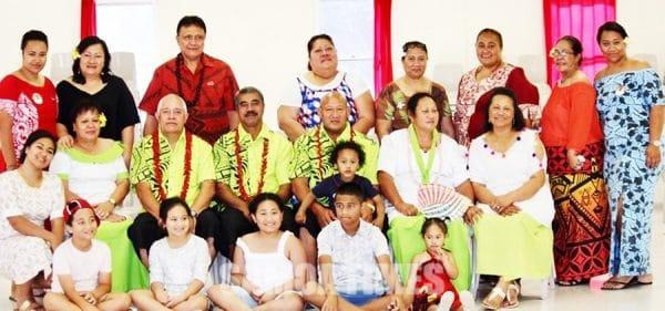 O se vaega o le mafutaga a Lotofaga sa faia le latou posiva mo le malumalu EFKS i Samoa