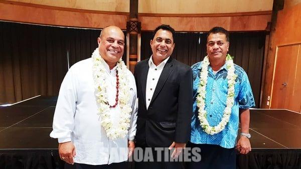 Hon Aupito Sua William Sio, Muliagatele Shiu Singh Afioga ia Faolotoi Reupena Pogi Konesula o Samoa