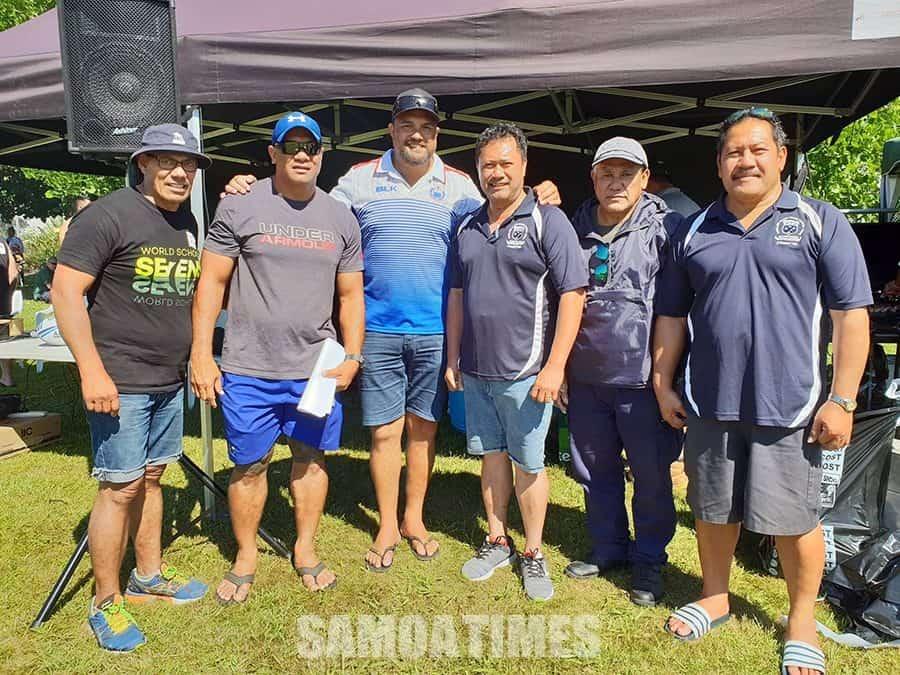 Mae'a filifiliga a le Samoa A i Niu Sila