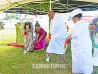 Suatia ma faapaia le fanua mo le malumalu fou o le ekalesia EFKS Taeaoafua