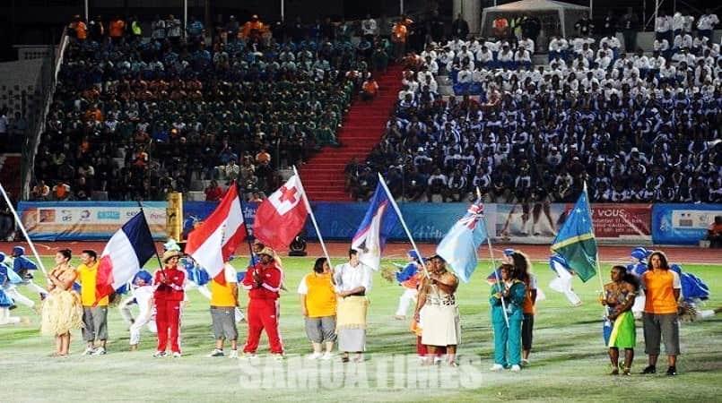 Sioki le Paketi a le Pacific Games