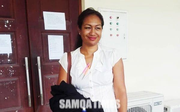 O le tamaitai loia a le SSIG, Josie Fuimaono-Sapolu