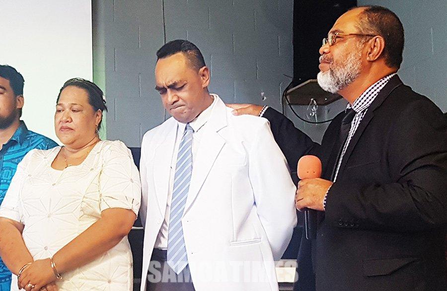 Valaauina le faafeagaiga Urika & Motugaafa Semuā i le galuega ekalesia Peace Chapel i Henderson