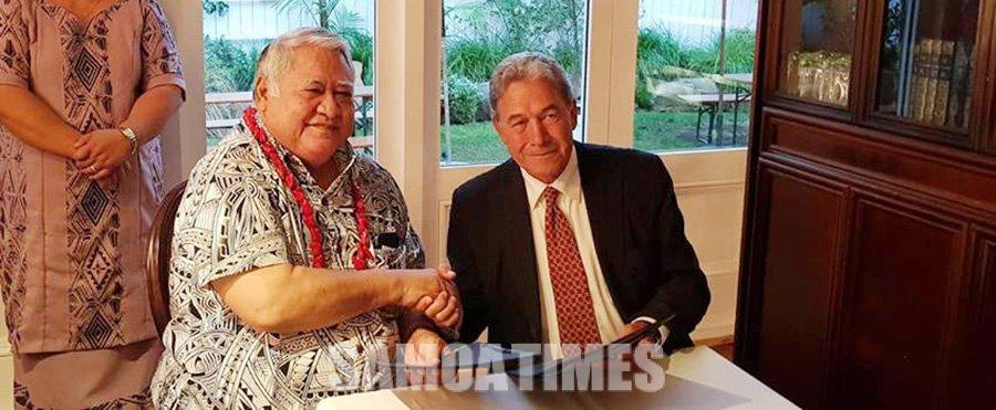 Faamalieina le Palemia o Samoa i le Waitangi Day a Niu Sila