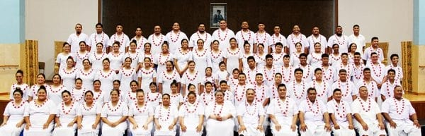 Ekalesia Metotisi Samoa i Magele i le latou koneseti mo tupulaga talavou