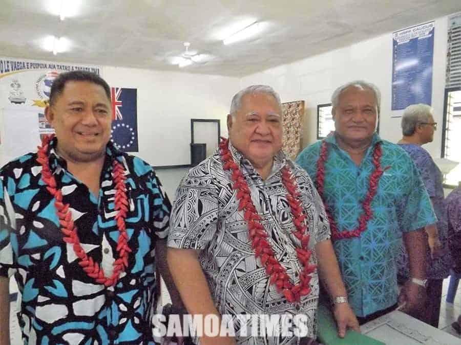 Tauva le Tautua Samoa ma le HRPP mo se tofi  o Faasaleleaga Numera 2