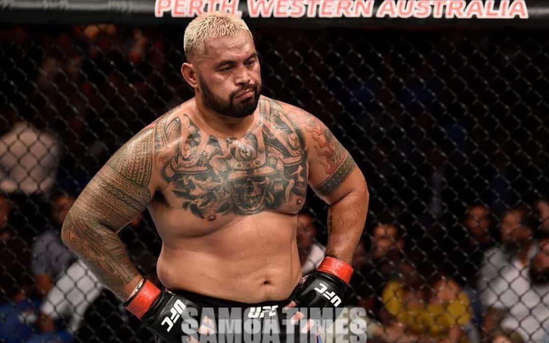 Teena e le Faamasinoga le tagi  a Mark Hunt i le UFC ma Brock Lesnar