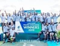 Siamupini le Fiji Warriors i le Pasefika