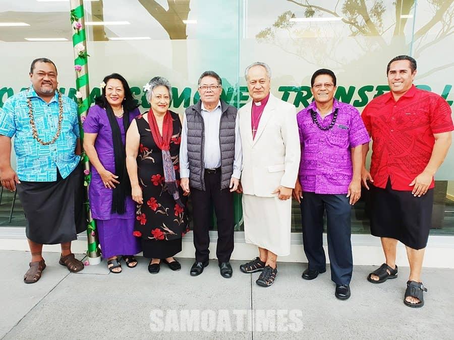 Tatala le isi auaunaga fou a le Samoa Finance Money Transfer LTD i Magele