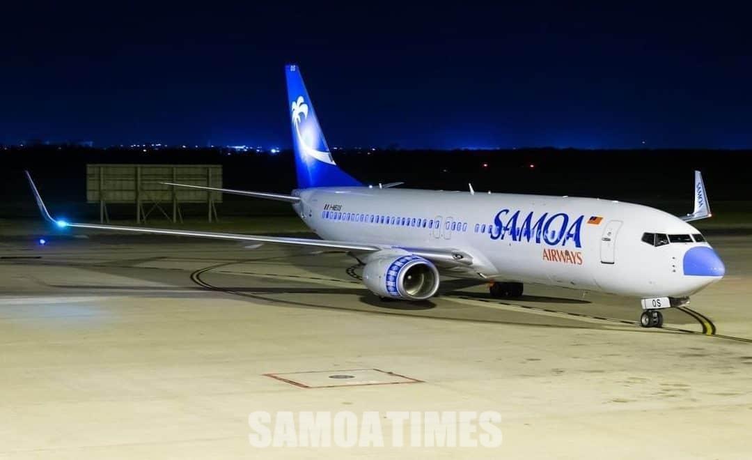 Muta le Lisi Samoa Airways faatali se vaalele e faaauauina malaga