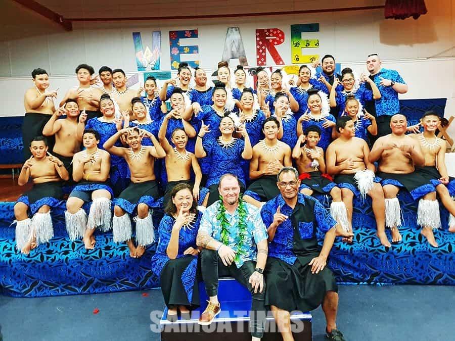 Tapena Kelston Intermediate Samoan Group  e tali le latou valaaulia i Hawaii