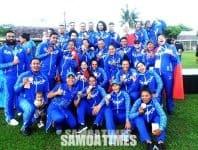 Pine Auro le Aukilikiti  a tamaitai Samoa