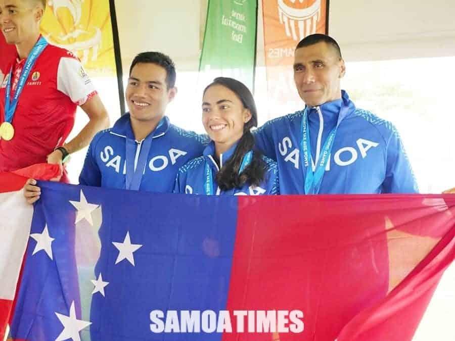 Uluai Medal Triathlon a Samoa i le Pacific Games