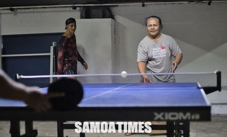 E moomia le maopoopo o le Asosi a le Table Tennis