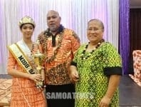 Faapaleina Sheckinah Hadfield-To'ala –Miss Samoa Australia Queensland 2019