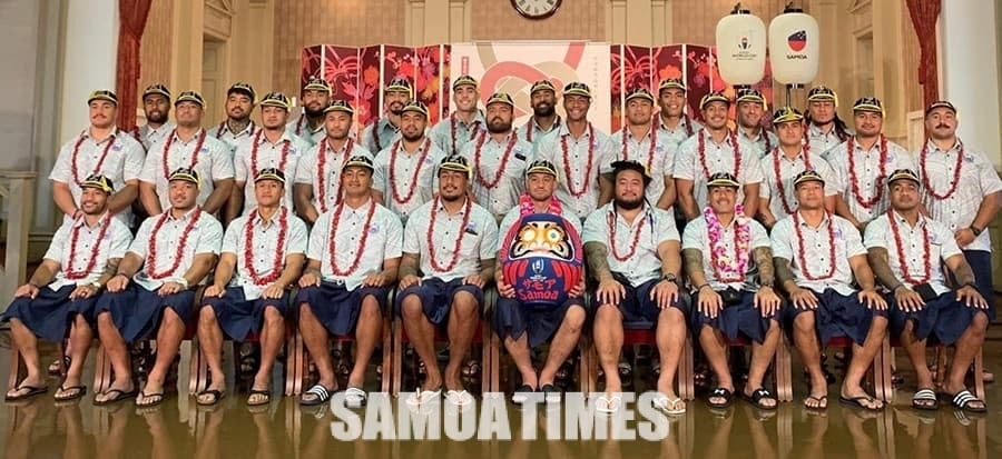 Vaiaso amata o le Rugby World Cup (RWC) 2019