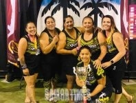Pine auro teine Hamo 'QUICKSAND' taamilosaga a le Rebound Volleyball Queensland