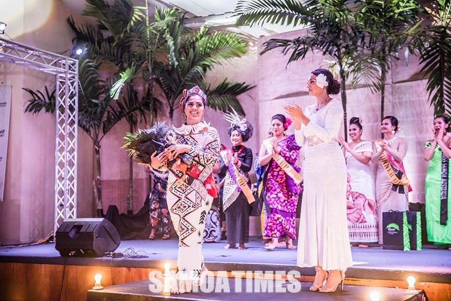 Faafeiloai lau Miss Samoa 2019-20 – Fonoifafo Nancy McFarland Seumanu