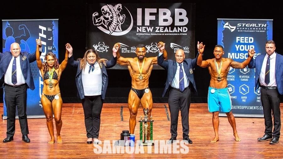 Siamupini aoao Samoa  i le tauvaga IFBB a Niu Sila