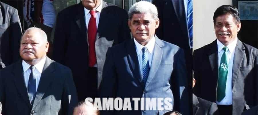 Tuua'ia le teine ofisa i le mataupu  ua faamalolo ai alii faamasino  o Fanua ma Suafa