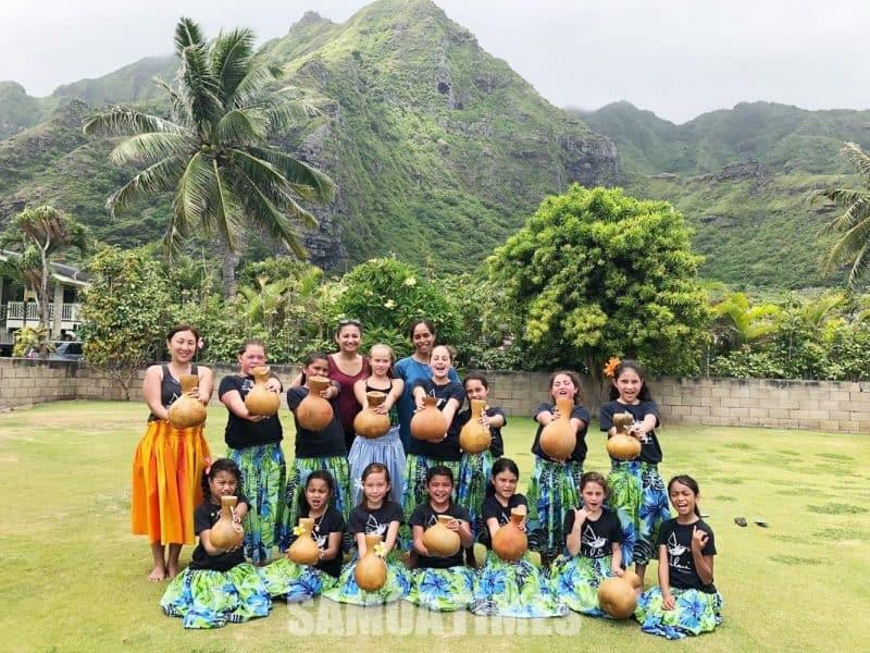 Ausiva atoa a le Nuholani Keiki Dancers