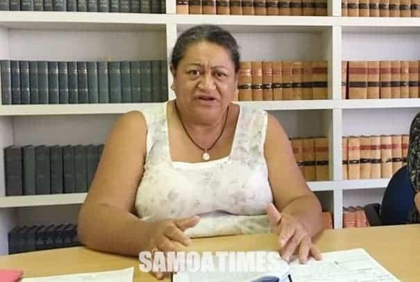 O le tamaitai loia sa avea foi ma Loia Sili a le Malo, Brenda Heather-Latu